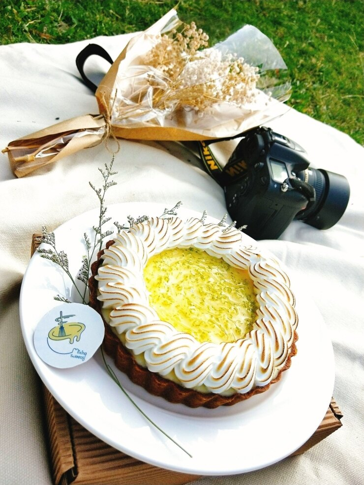 蛋糕 檸檬塔  檸夏之戀  尺寸:6吋
