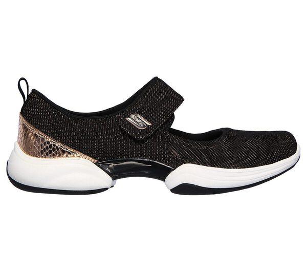 Skechers Skech-lab - Embellished [23384BKRG] 女鞋 運動 休閒 透氣 黑金