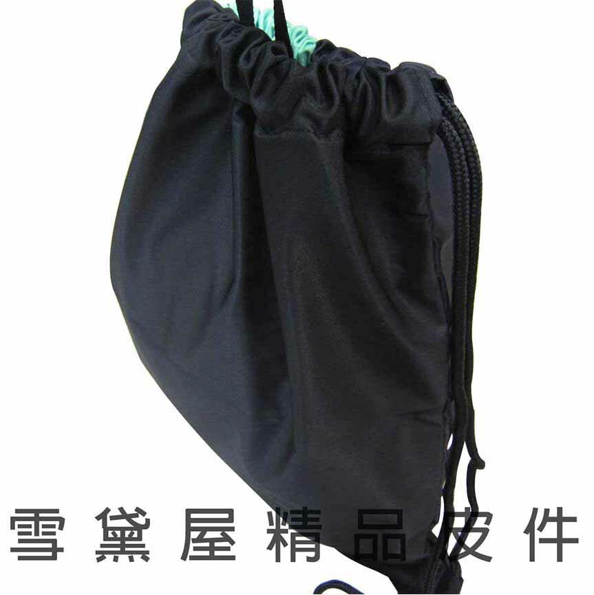 ~雪黛屋~小小兵 束口後背包簡易好收納可放A4資料夾防水尼龍布材質隨身包正版限量授權品 MM2723
