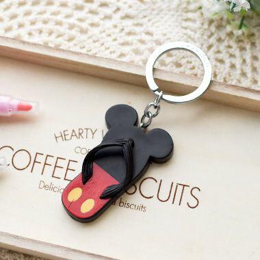 迪士尼拖鞋造型鎖圈
