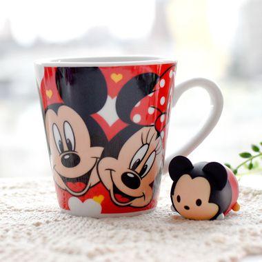 迪士尼圖繪陶瓷馬克杯