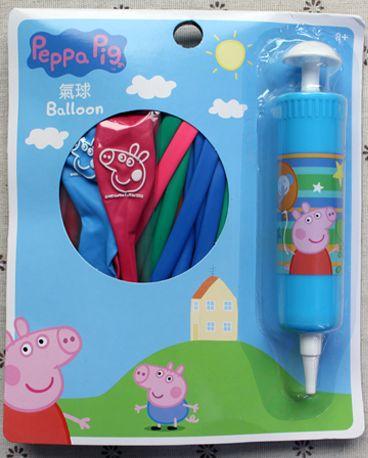 佩佩豬造型氣球遊戲組