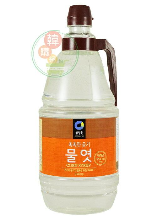 【韓購網】韓國進口玉米麥芽糖漿2.45KG★甜而不膩、可取代砂糖、讓您的菜色更亮更美味