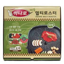 【韓購網】韓國原裝進口HANANO排油烤盤★方形32cm、會排油、不沾好清洗★網路熱賣喔!