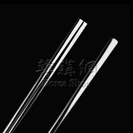 【韓購網】韓國素面扁筷湯匙組★不銹鋼製★環保餐具★韓國餐廳最常使用