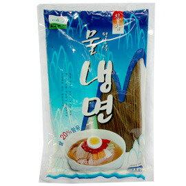 【韓購網】韓國平壤式涼麵(冷麵)★韓國人最愛吃料理★內有調味包,酸酸甜甜挺開胃的喔韓國冷麵涼麵蕎麥麵蘋果冷麵TVBS得獎的是