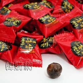 【韓購網】韓國紅蔘糖170g(大包)★紅蔘味十足、吃過的人都覺得不錯喔★從大包原裝散裝成小包,約50顆★韓國糖果紅蔘糖紅參糖人蔘糖人參糖