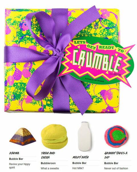 *禎的家* 英國名牌 LUSH 四件泡泡浴球聖誕限量禮品組 NEW