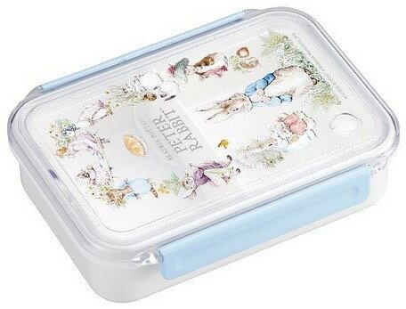 大賀屋 彼得兔 便當盒 可微波 保鮮盒 防漏 安全 無毒 日本製 耐熱 140度 正版 日貨 J00014026
