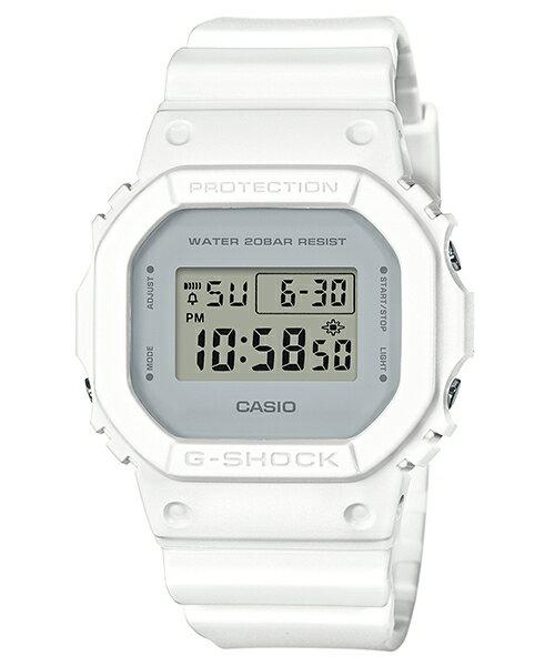 CASIO G-SHOCK DW-5600CU-7 復古簡約雙色數位腕錶/48.9*42.8mm