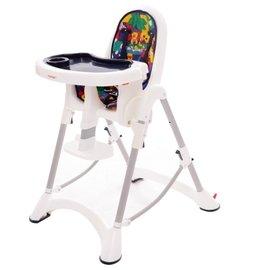 【淘氣寶寶】台灣製 myheart 折疊式兒童安全餐椅(卡通藍)【公司貨】 - 限時優惠好康折扣