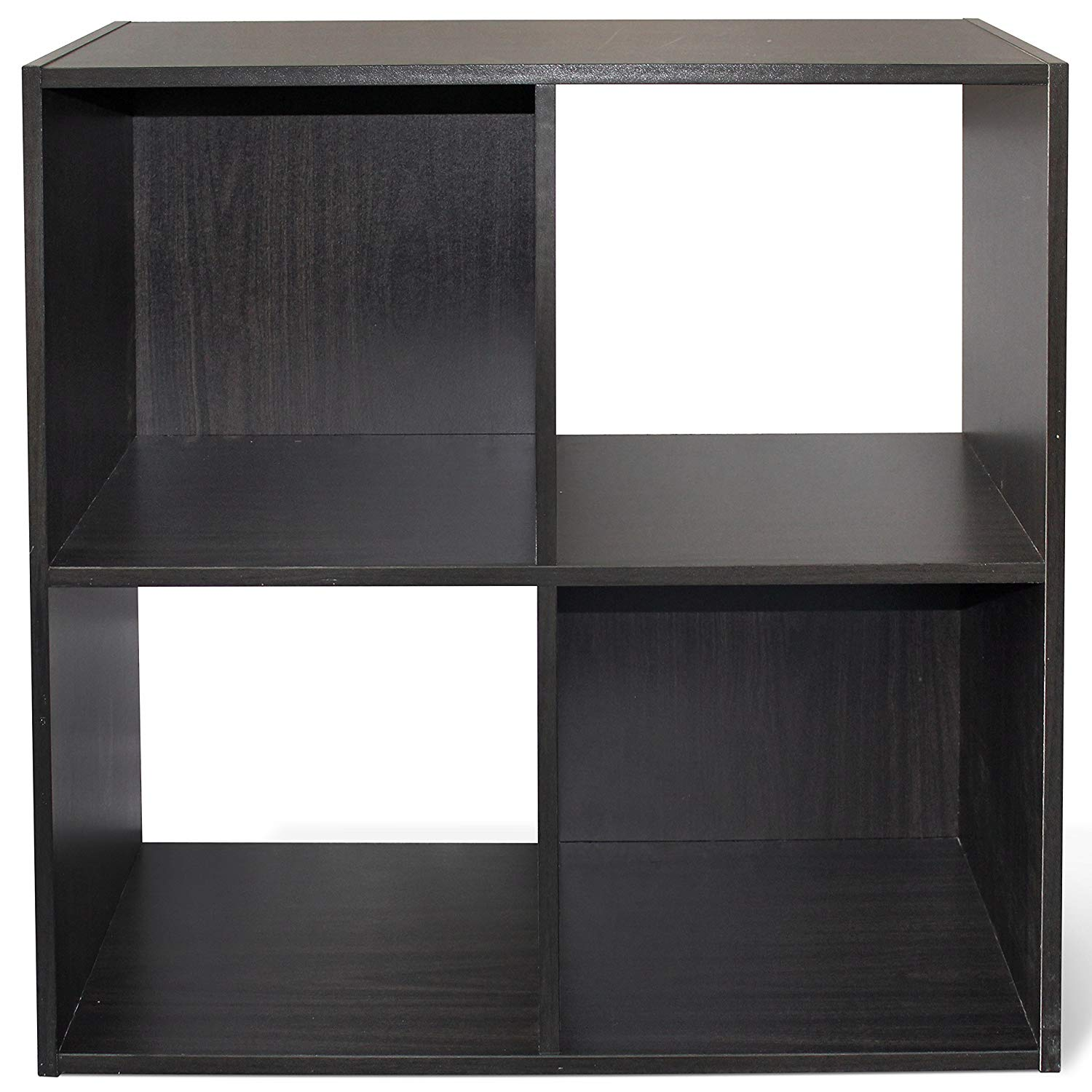 Cap Living 4 6 8 Cube Room Organizer Storage Divider Bookcase Colors Available In Espresso And White