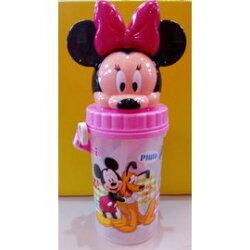 迪士尼 500造型水壺/水杯 米妮【紫貝殼】