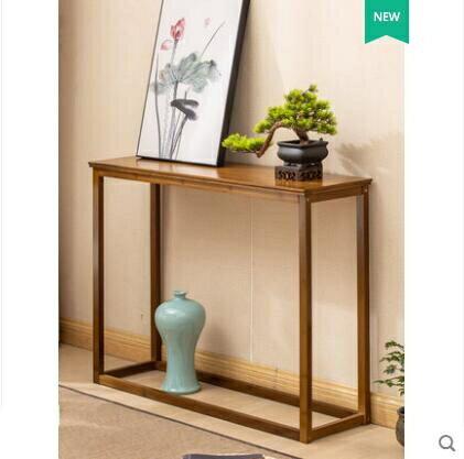 新中式玄關桌實木玄關台簡約邊桌牆邊窄桌長條案幾櫃禅意供桌條案