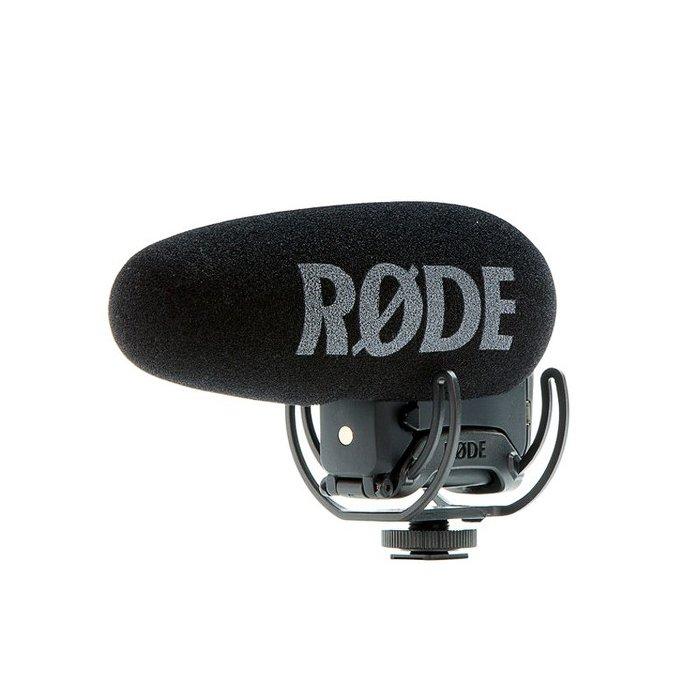 正成公司貨 RODE VIDEOMIC Pro + plus 最新款 單眼相機 超心型指向 外接 麥克風【唐尼樂器】