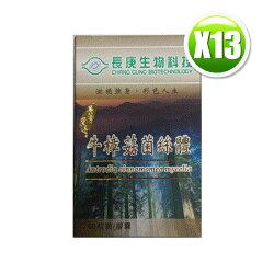 長庚生技 寶島牛樟菇 (350mgx60粒/瓶)x13