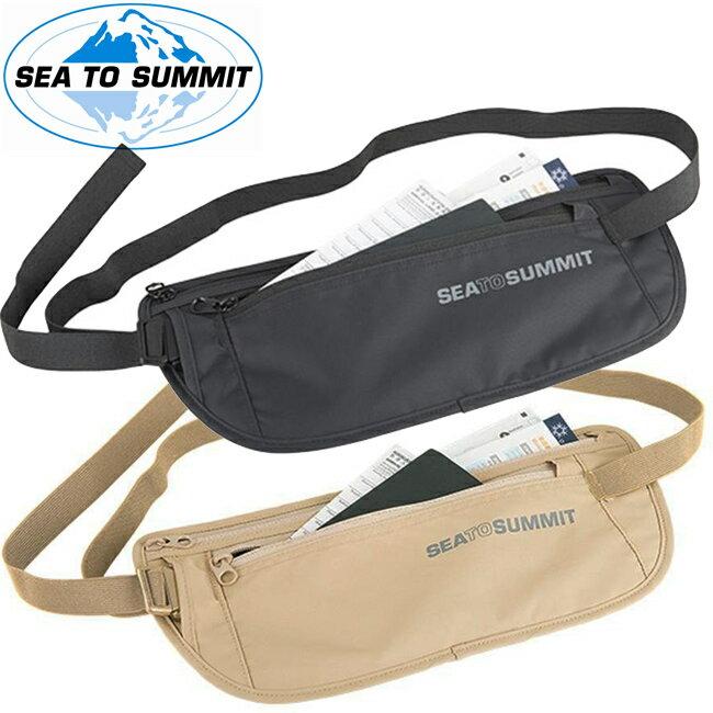 【【蘋果戶外】】Sea to summit ATLMB 『藏錢腰包』旅行用腰帶式錢包 Money Belt 旅行腰包 防竊腰包 零錢袋.隨身袋 黑/褐 STSATLMB