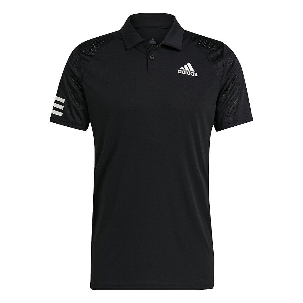 【全館滿額88折】【現貨】Adidas CLUB TENNIS 男裝 短袖 POLO衫 慢跑 訓練 透氣 吸濕排汗 黑【運動世界】GL5421