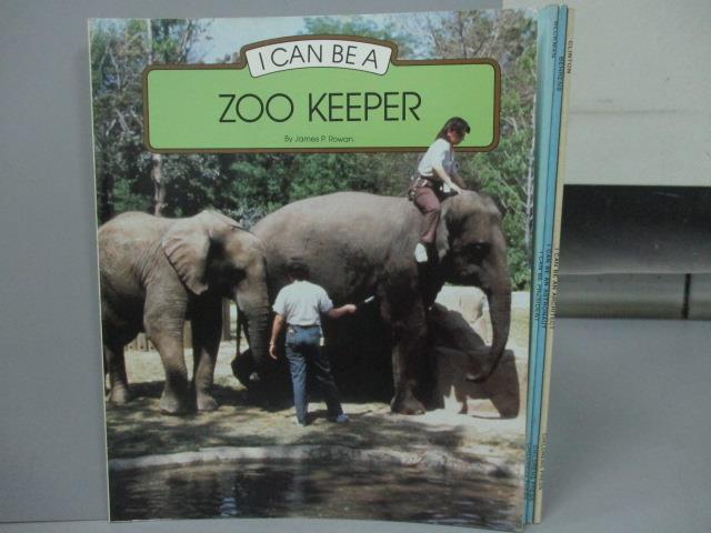 ~書寶 書T4/少年童書_PQC~I Can be a ZOO KEEPER_I can