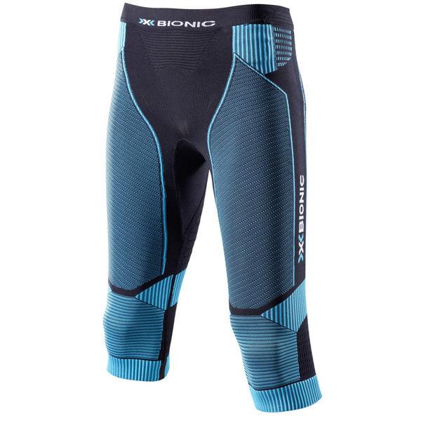 【7號公園自行車】 X-BIONIC RUNNING LADY 機能女七分褲(藍黑)