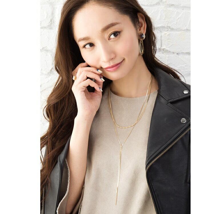 日本Cream Dot / 女士優雅Y字鍊 / a01595。共2色-日本必買 代購 / 日本樂天代購 (1580) 3