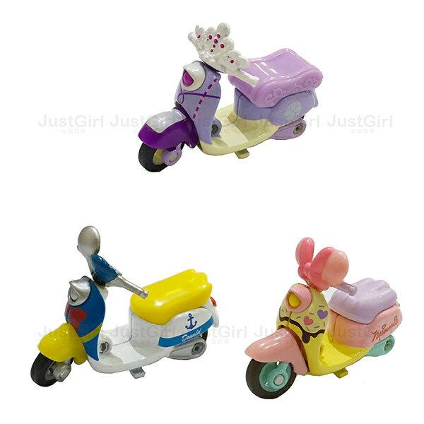 迪士尼 TOMY多美 玩具車 小汽車 摩托車 唐老鴨 黛西 蘇菲亞小公主 玩具 正版日本進口 * JustGirl *