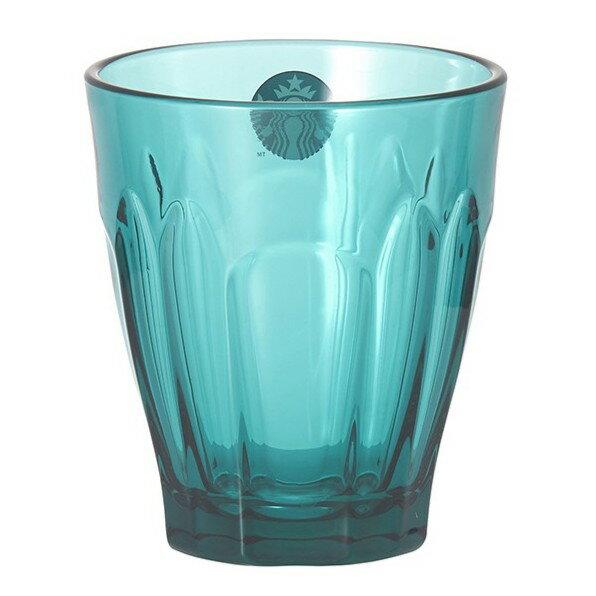 星巴克正品購買  天空藍玻璃杯280ml (94309)
