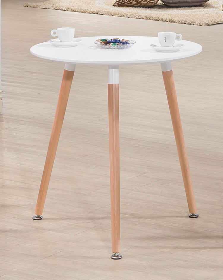 ~石川家居~ CE~432~07 北歐簡約2尺圓桌  不含椅跟   需 車趟