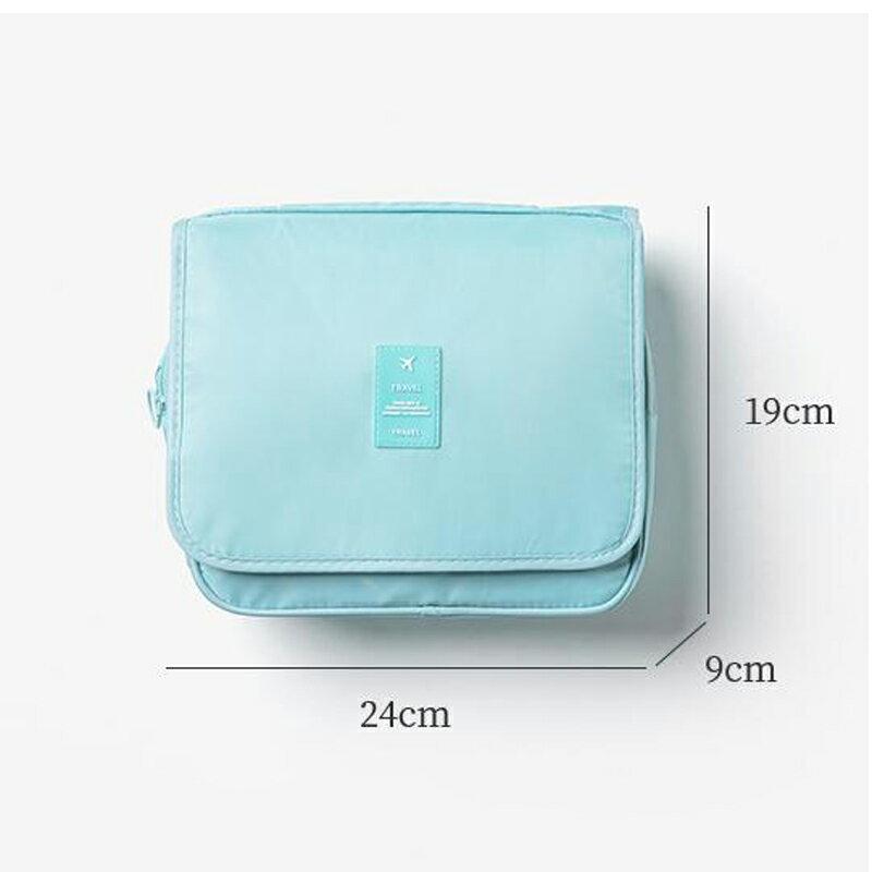 台灣現貨 旅行化妝包 大容量 收納包 收納袋 出國旅行包 拉鏈3C手機耳機用品收納袋多功能女生 保養品小包 6