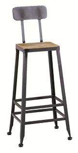【石川家居】JF-489-11蓋爾木面吧台椅(單只)(不含其他商品)台北到高雄搭配車趟免運
