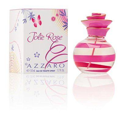 香水1986☆AZZARO Jolie Rose茱麗粉紅淡香水 30ml