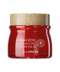 [即期良品201905]韓國 the SAEM Urban Eco Waratah 鎖水保濕清爽乳霜-60ml Urban Eco Waratah Light Cream【辰湘國際】