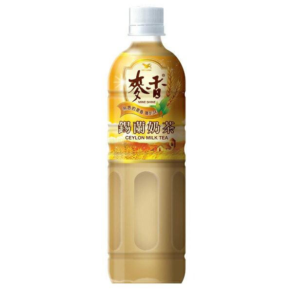統一 麥香 錫蘭奶茶 600ml (24入) / 箱 1
