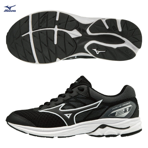 美津濃 MIZUNO 大童跑鞋 WAVE RIDER 21 JR K1GC182510