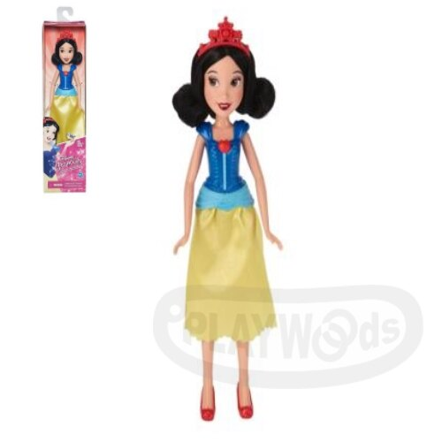 【Playwoods】[迪士尼公主DISNEY]人物角色組:白雪公主Snow White (白雪公主Snow White/孩之寶Hasbro/娃娃Doll//安徒生童話/毒頻果/七個小矮人)
