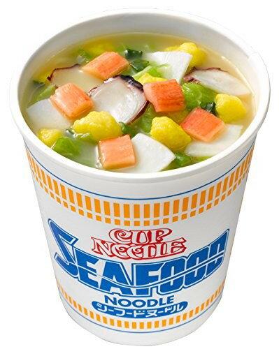 【NISSIN日清】海鮮即食杯麵 75g 日本進口美食 3.18-4 / 7店休 暫停出貨 1