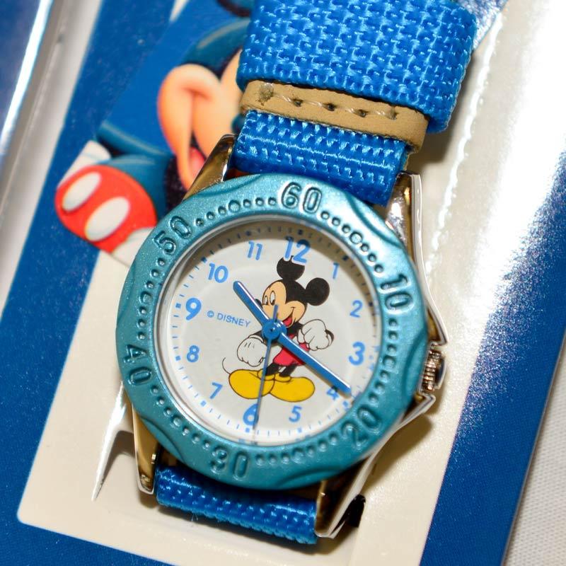 米奇 Mickey 迪士尼 指針式 兒童手錶 日本限定 正版品