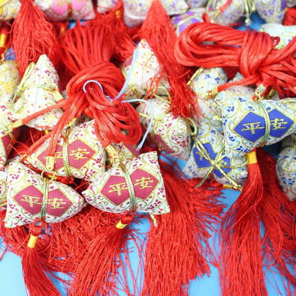平安香包 粽子香包 項鍊式手工(成品) / 一包10個入 { 促80 }  端午節香包~4762 3