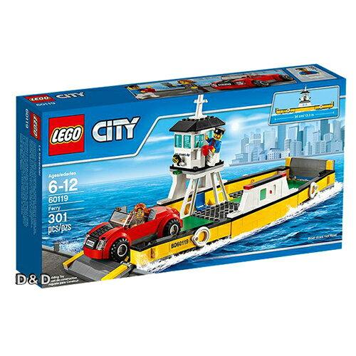 樂高積木LEGO~ LT60119 ~2016 年 CITY 城市系列 ~ 渡船