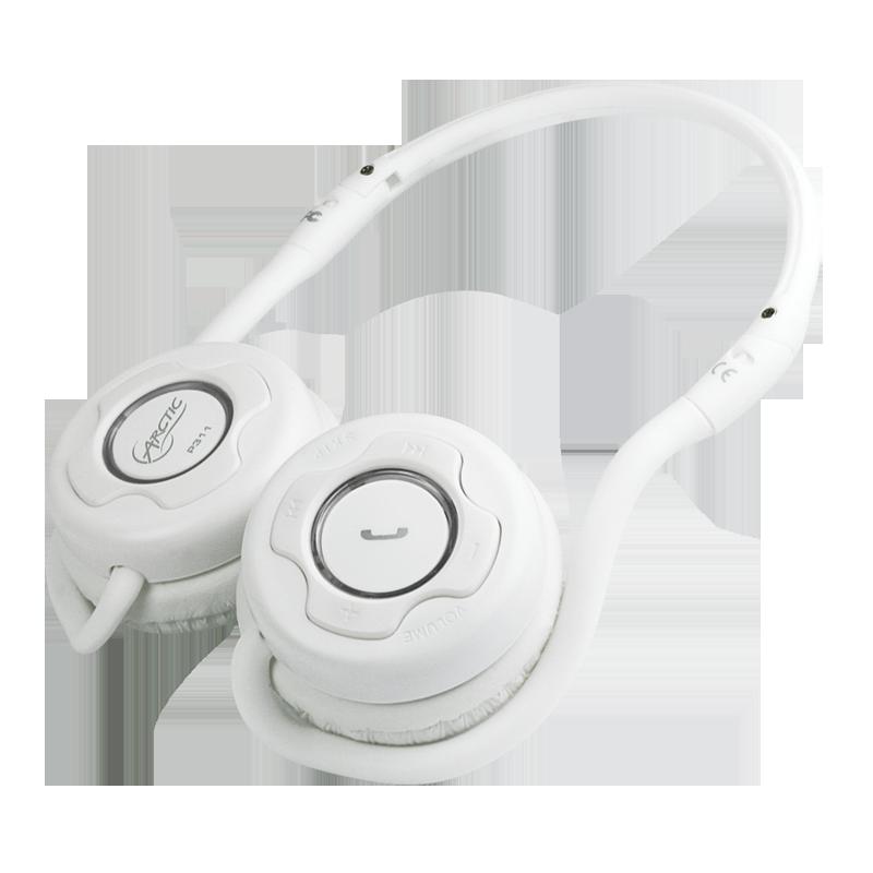 【迪特軍3C】ARCTIC Sound P311 Black 藍芽後掛式耳機 附攜帶包 USB充電 -耳機- White
