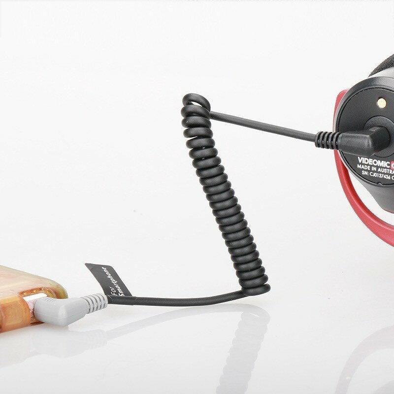 【eYe攝影】現貨 相機麥克風轉手機 連接線 TRRS MM1 Rode Wireless go 3.5mm 音訊轉接線