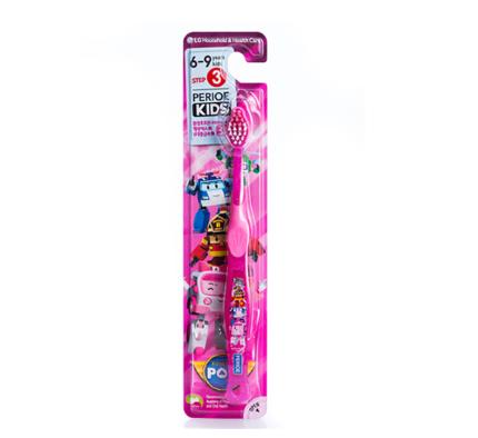 【倍麗兒】波力 V型潔牙 兒童牙刷(6歲以上-女)