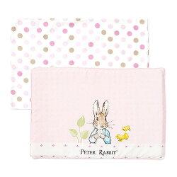 【悅兒園婦幼生活館】奇哥 花園比得兔乳膠枕-粉色 (附枕套)