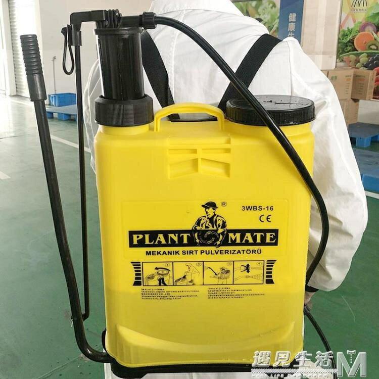 噴霧器農用手動高壓多功能背負式打農藥防疫消毒機消殺專用噴壺