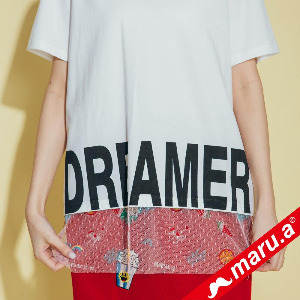 【maru.a】dreamer印花上衣 8311316 3