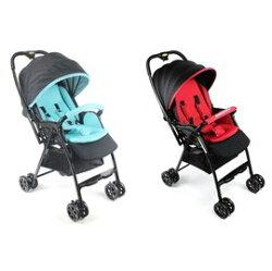 babybabe 加寬超輕量雙向秒收車 藍/紅『121婦嬰用品館』