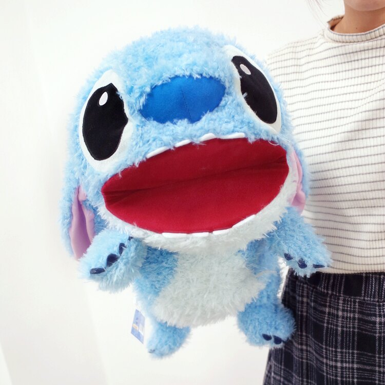 PGS7 迪士尼系列商品 - 迪士尼 史迪奇 Stitch 星際寶貝 50cm 超大 手偶 玩偶 絨毛 娃娃【SJK7291】