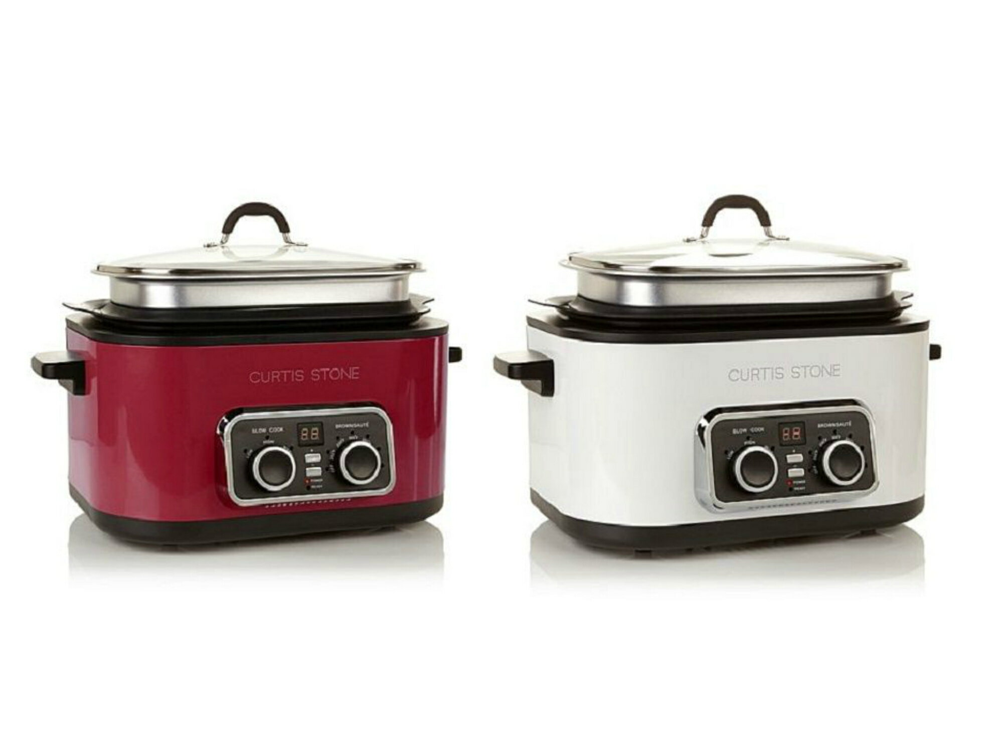 Curtis Stone 5 in 1 Ultimate Multicooker 6 Qt Non Stick With Lid 0