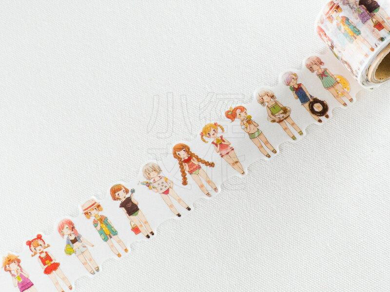 *小徑文化*   台灣原創   野餐桌 picnic tablle - Gummy Girl 02 夏日海灘季 ( PT-GUMMY02 )