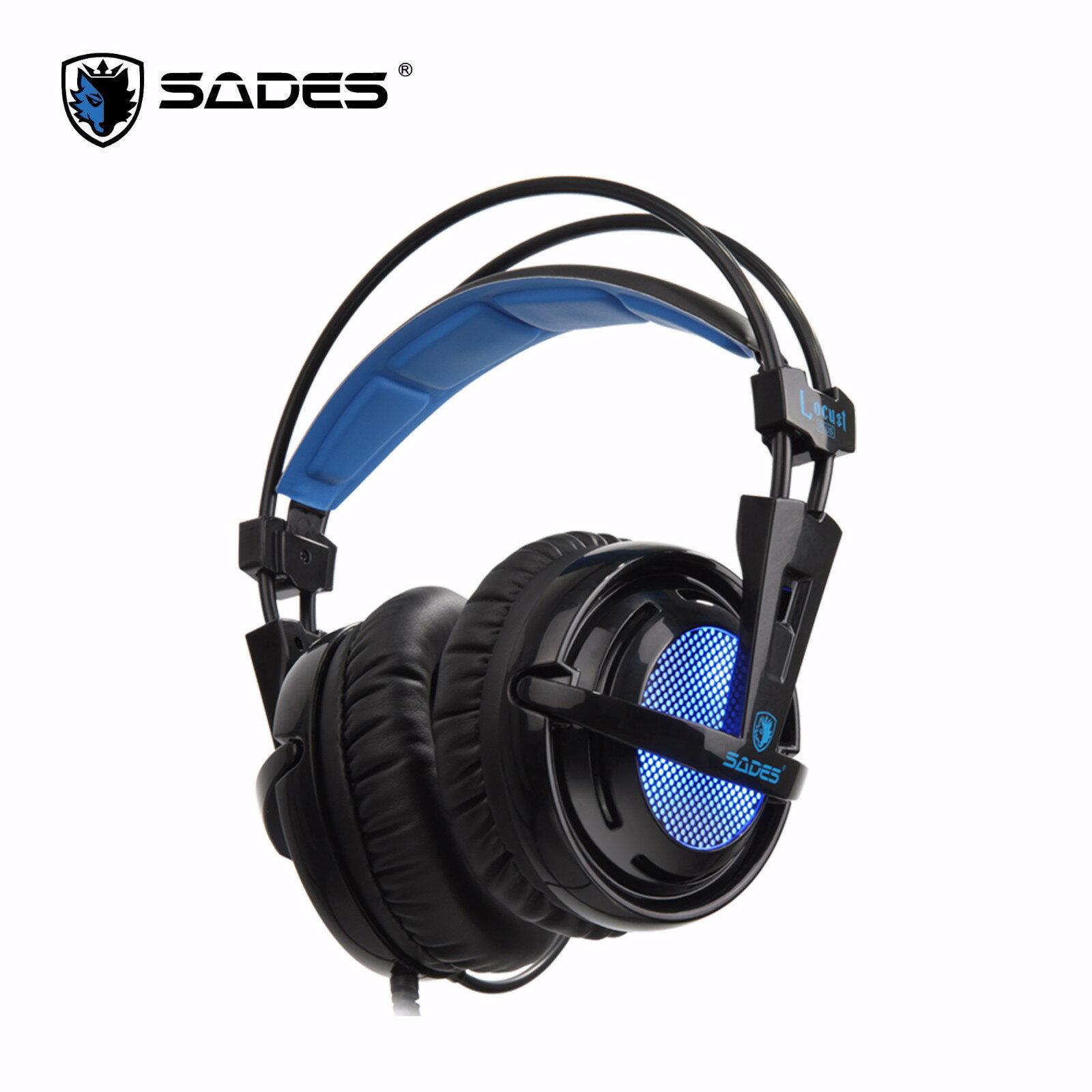 SADES 賽德斯 Locust Plus 狼蝗SA-904S RGB電競耳麥 7.1聲道 RGB燈效 遊戲耳麥【迪特軍3C】